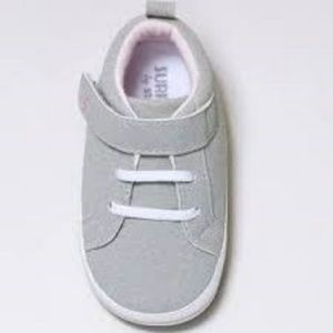 NWT Baby Girls Heather Sneaker Mini Shoes Grey